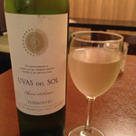 酒場 うさぎ - グラスワイン(白) アルゼンチン UVAS DEL SOL