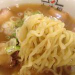 喜多方ラーメン 坂内 小法師 - やっぱりこの麺は旨いですね