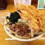 せんしゅう - 2014.06 肉天わかめ¥670+特盛¥200