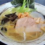 むすび - 料理写真:鶏炊き 塩ラーメン
