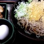 ゆで太郎 - 朝食の大根そばセットです