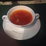 蔵カフェおもひで屋 - ミネストローネ