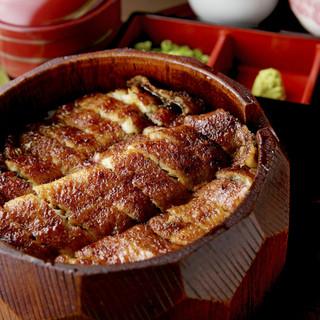 郡上炭火焼 うなぎの魚寅 - 料理写真:ひつまぶし