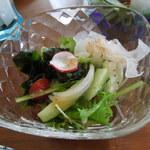 SAWAS食堂 - ランチサラダ