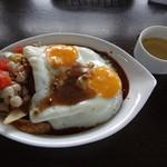 cafedining TANUMA - ロコモコDX