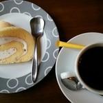 ひの亭 - 2014.06店長おすすめセットのデザート&コーヒー