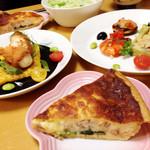 ル プーレ - 料理写真:盛り付けたお料理☆