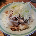 麺や 老虎 - チャーシュー丼