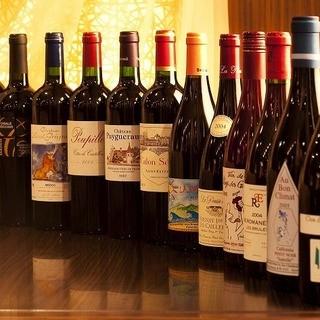 ワイン・焼酎など…ドリンクの種類も豊富☆