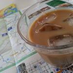 上高地食堂 - サービスのアイスコーヒー