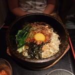 焼肉 名門 - 【ランチ】石焼ビビンバセット