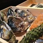 鮨旬美西川 - 岩牡蠣…島根産