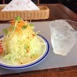ストロベリーキャンドル - 山盛りサラダ