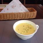 ストロベリーキャンドル - あっさりなコーンスープ