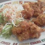 中国料理 宝楽 - 鶏の唐揚げ