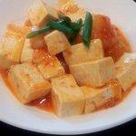 キュート - 豆腐とエビのピリ辛煮