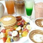 スイーツリングカフェ - パンケーキやカフェラテ等種類豊富なドリンク&デザート