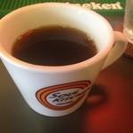チリチリ - ドリンクセットのコーヒー250円