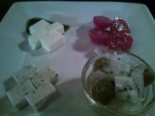 Malted Milk - 「チーズとオリーヴの盛り合わせ」・