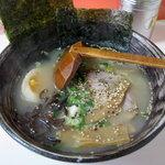 雷文 - 塩ラーメン600円