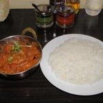 インド・ネパール料理 NAMASTE - ナスのカレー