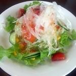 ヨコヤマ - スモークサーモンのサラダ
