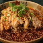 香満楼 - 麻辣口水鶏(よだれ鶏)