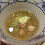 栞庵 やましろ - じゅんさいと岩梨の酢の物