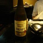 博多黒鉄 - ビールは瓶