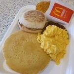 マクドナルド - ビッグブレックファストデラックス♡一度食べてみたかった(笑)