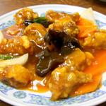 中華料理 ポパイ - 酢豚