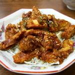 中華料理 ポパイ - 油淋鶏