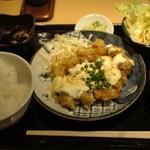 銀座 ほんじん - チキン南蛮定食 830円(14年6月)