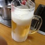 小ばなし - ジョッキがキンキンに冷えた生ビール