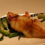 澤亭 - メイン料理 鮮魚のボワレ 柚子胡椒焼き