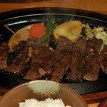 レストランホワイト キッチン - 和牛あぶりステーキ