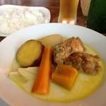 Midsummer Cafe 夏至茶屋 - チキンと野菜のカレーミルク煮@夏至茶屋 -Midsummer Cafe-