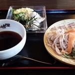 肉汁うどん長嶋屋 - 冷やし肉汁うどん 700円