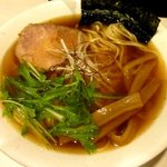 麺屋 侍 - 淡麗系鯛らーめん(醤油)!(2014,06/25)