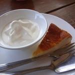 天小屋 - チーズケーキとソフトクリーム(姫セット)