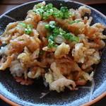 天小屋 - さくら丼タレ味(ざる麺殿セット)