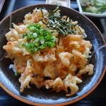 天小屋 - さくら丼塩味(姫セット)