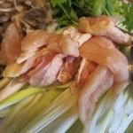 元祖 むらさき - 比内地鶏です。