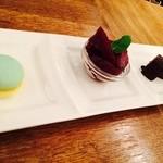 アートフォーソート - デザート!濃厚ガトーショコラ美味しい!