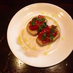 Dining Bar MOX - 和歌山県産フルーツトマトのブルスケッタ
