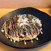 金の卵 - 料理写真:豚肉入りお好み焼き500円