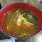 鮨和 - 味噌汁