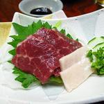 日本料理 さか本 - 馬刺し