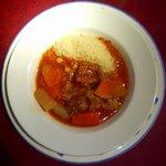 """いきましょうレストラン - 世田谷""""いきましょうレストラン""""ブリフィックスコース主菜「クスクスモロッコ風」"""