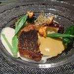 イグレック ベガ - 魚料理(メジナのポワレ)